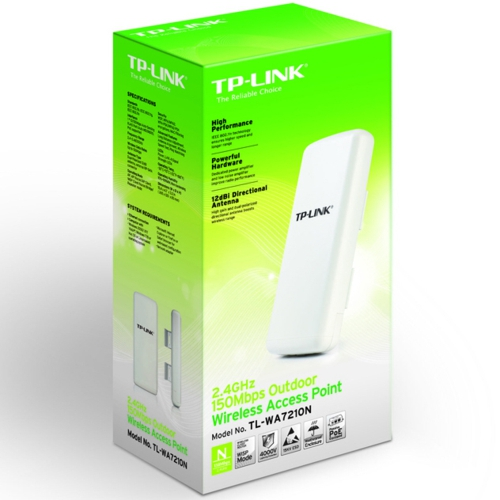 TP-Link TL-WA7210N 150Mbps Wi-Fi Outdoor Access P.
