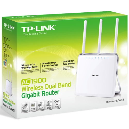 TP-Link Archer-C9 AC1900 DualBand Wi-Fi Router