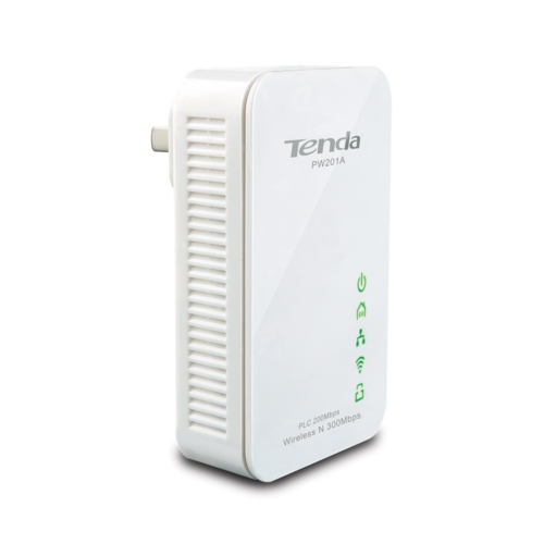 Tenda PW201A HomePlug 1 Port Kablosuz 200/300Mbps