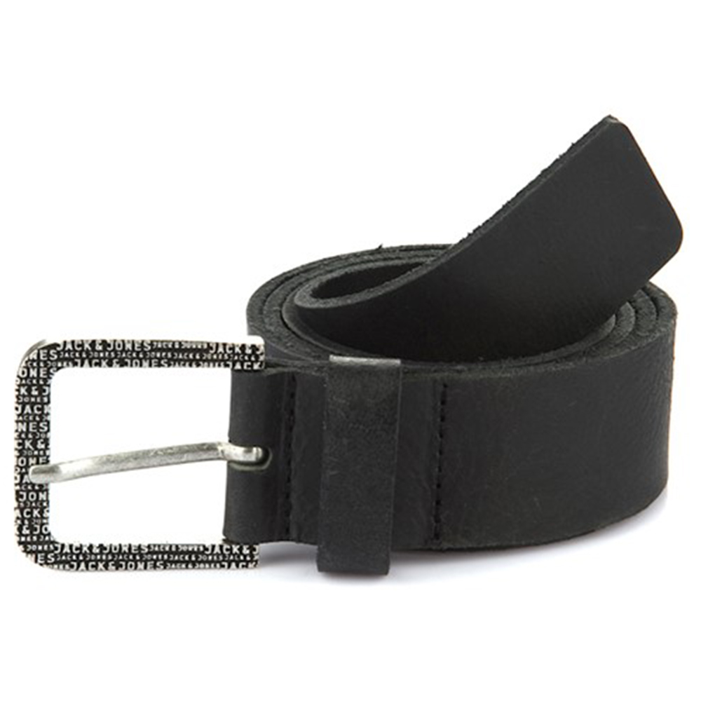Jack & Jones Calle Leather Belt Siyah 95