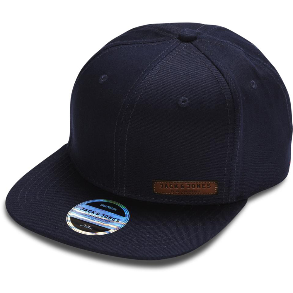 Jack & Jones Basıc Color Snapback Lacivert Standart