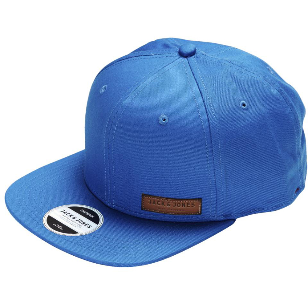 Jack & Jones Basıc Color Snapback Mavi Standart