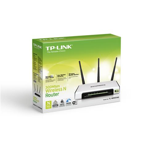 TP-Link TL-WR941ND 4Port Wi-Fi 300Mpbs Router
